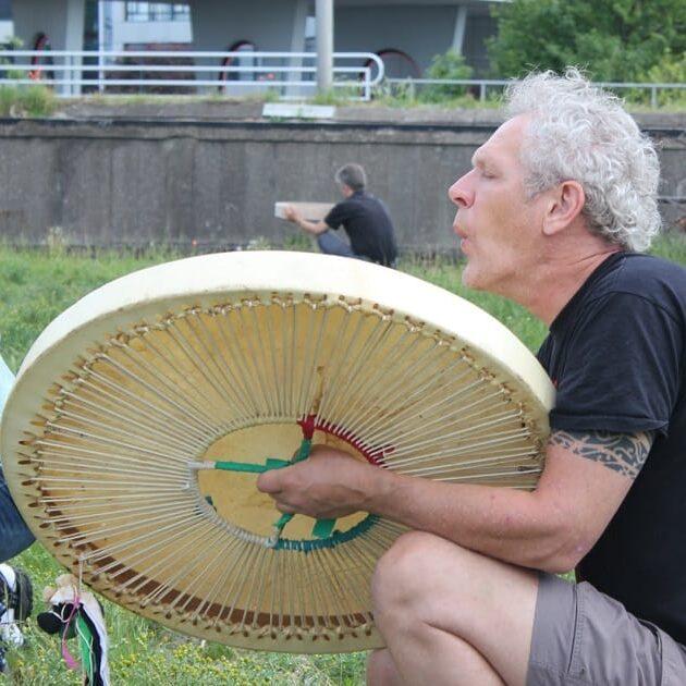 de tweede drum is een grootvader