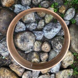 Drum frame voor dubbele drum