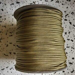 beige touw voor je sjamanendrum bouw