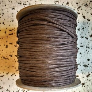 donker bruin touw is populair als aarde kleur