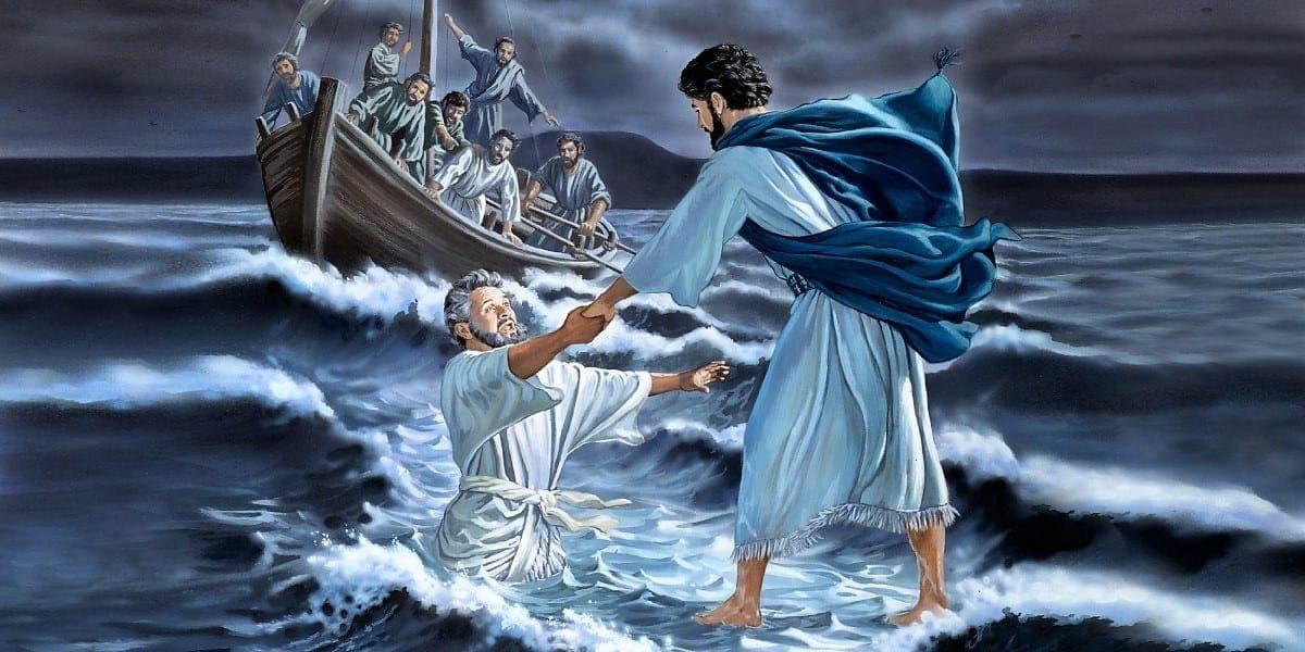 jezus geeft vertrouwen